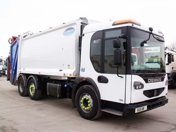 Ref: 124 - 2011 Dennis Narrow Track Refuse Truck For Sale