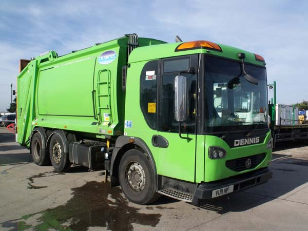 Ref: 87 - 2011 Dennis Elite 2 Olympus Refuse Truck For Sale