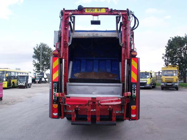 Ref: 104 - 2011 Dennis Narrow Track Refuse Truck For Sale