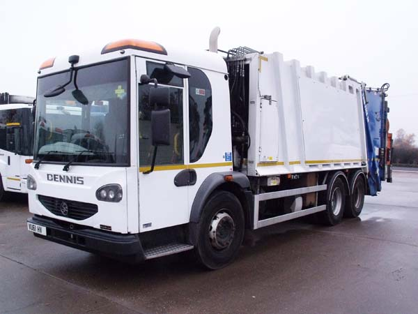 Ref: 45 - 2011 Dennis Twinpack Refuse Truck For Sale