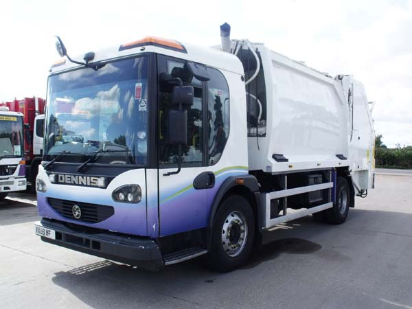 Ref 38 - 2009 Dennis Narrow Track Refuse Truck Body For Sale