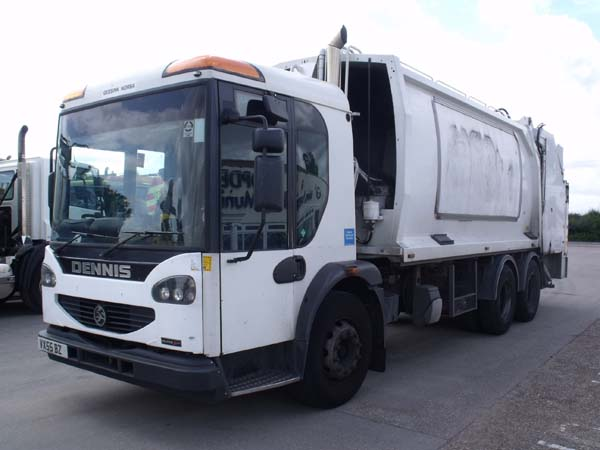 Ref: 134 - 2005 Dennis Elite 2 Geesink Norba refuse truck For Sale