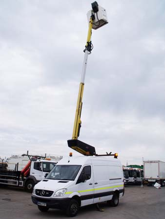 Ref: 122 - 2013 Merceded Versalift Access Platform For Sale