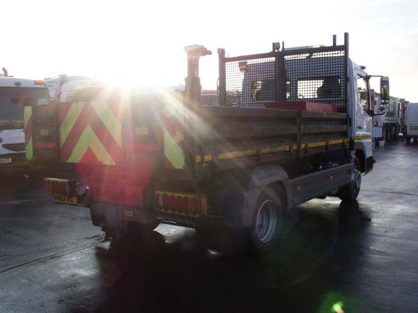 Ref: 125 - 2013 Mercedes 7.5 ton Tipper For Sale