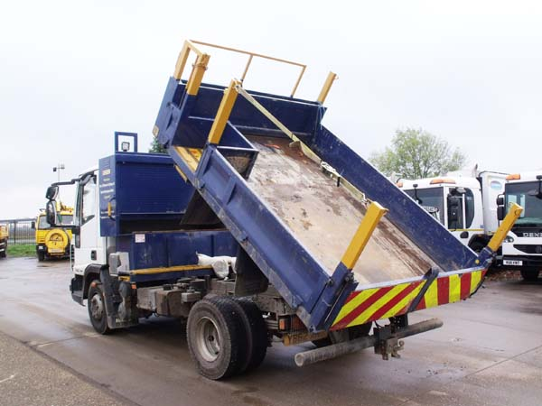 Ref: 88 - 2013 Iveco Dropside Tipper For Sale
