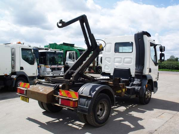 REF 68 - 2011 DAF 7.5 Ton Hook Loader For Sale
